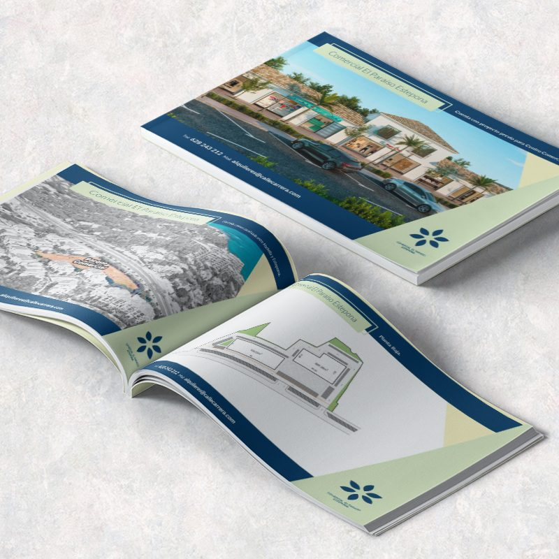 Catálogo de promoción inmobiliaria