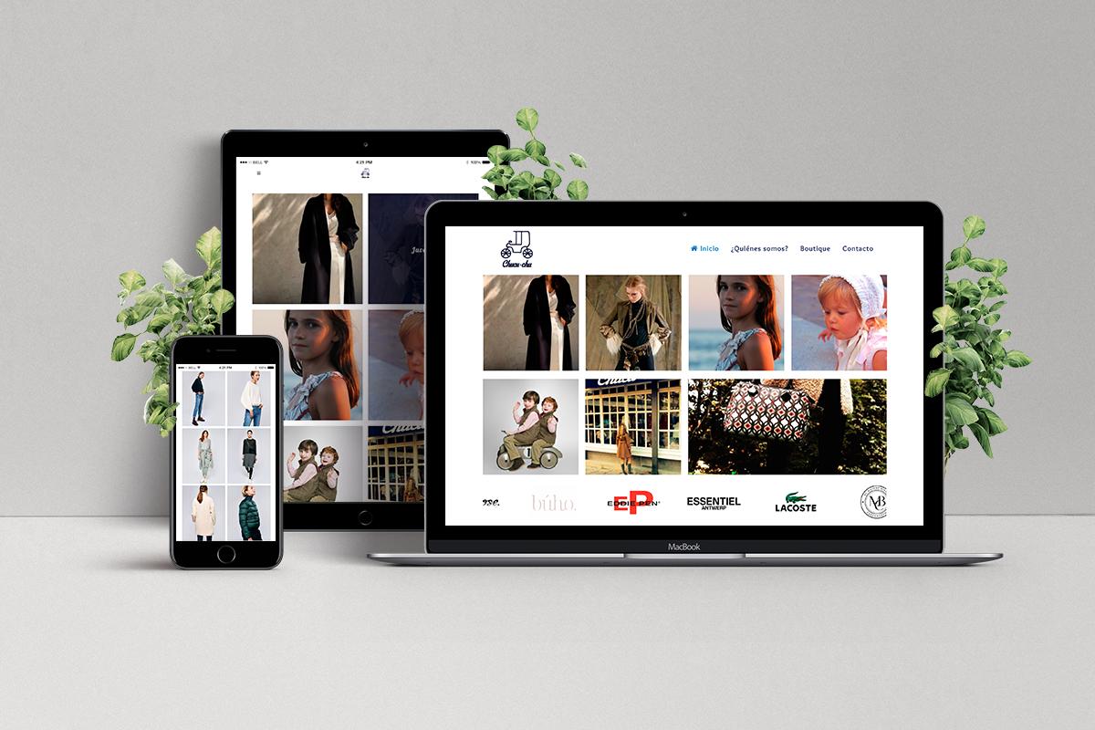 Diseño web tiendas de moda