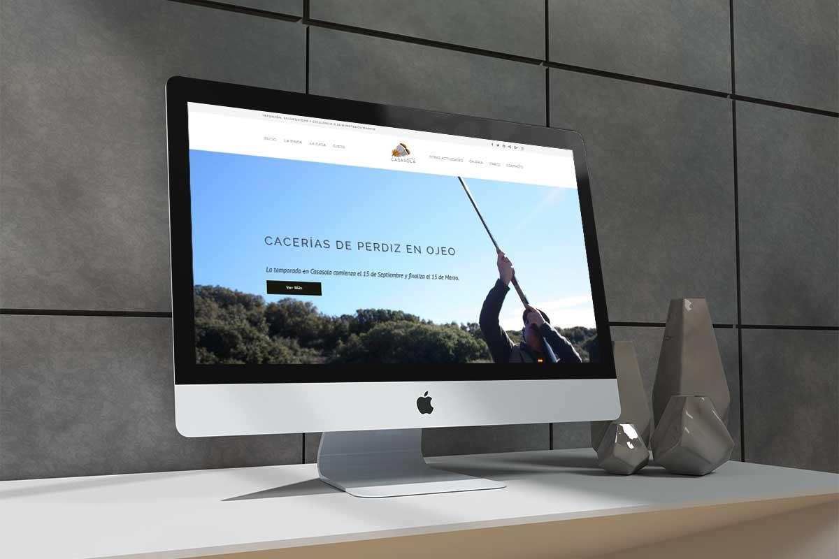 Diseño web caza
