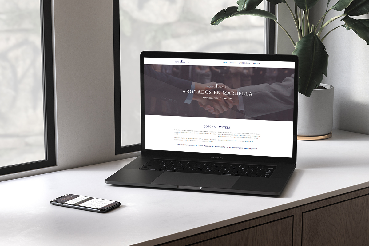 Página web abogados