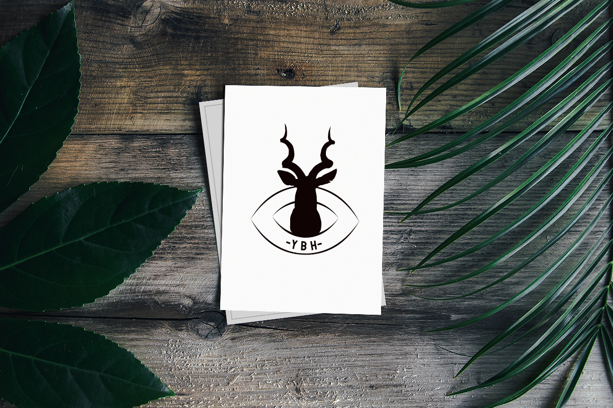 Diseño de logotipo de caza