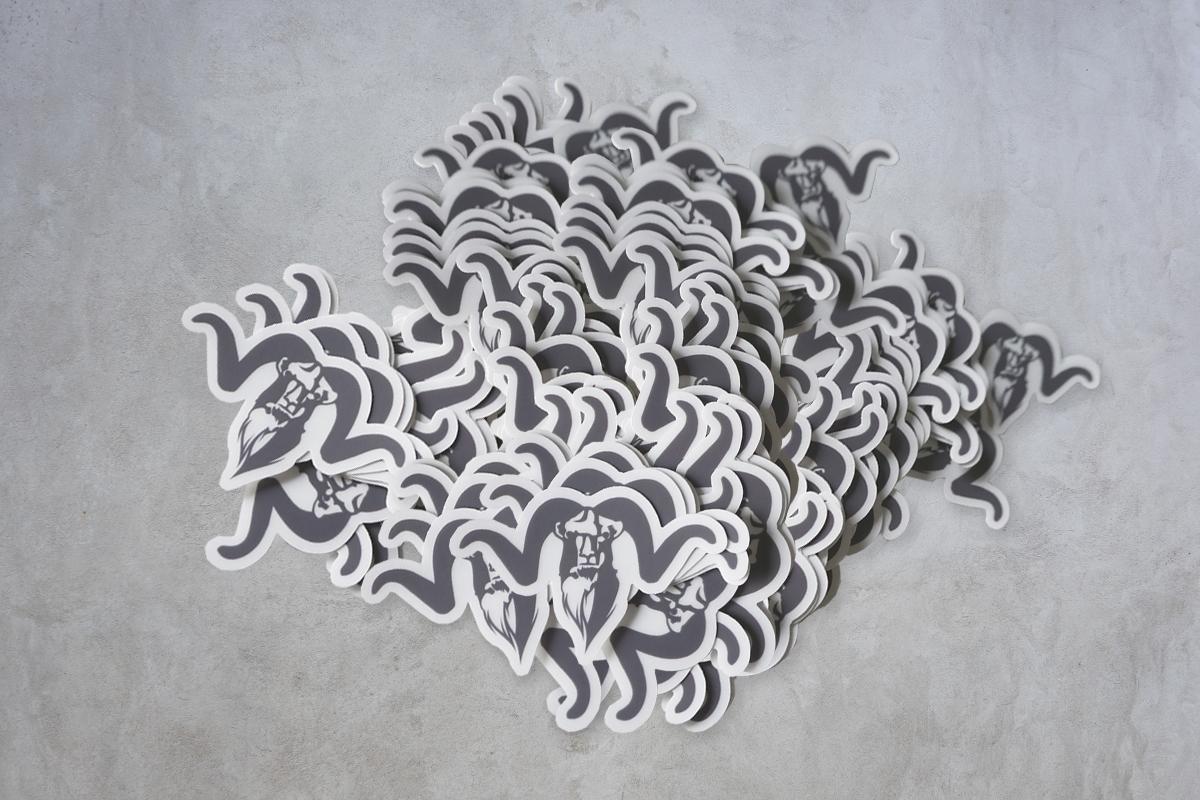Diseño de pegatinas troqueladas