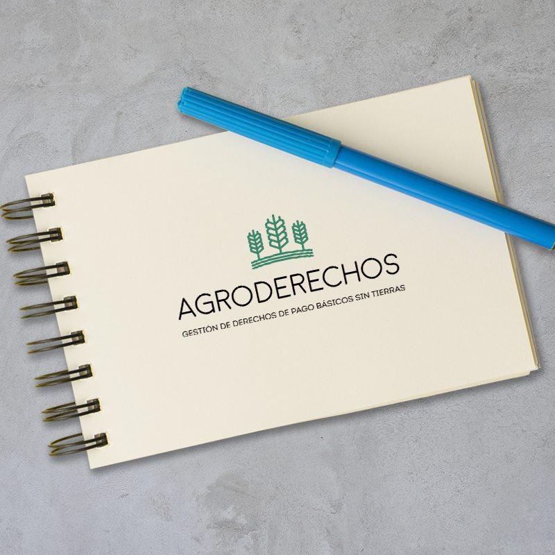 Diseño de logotipo para Agroderechos