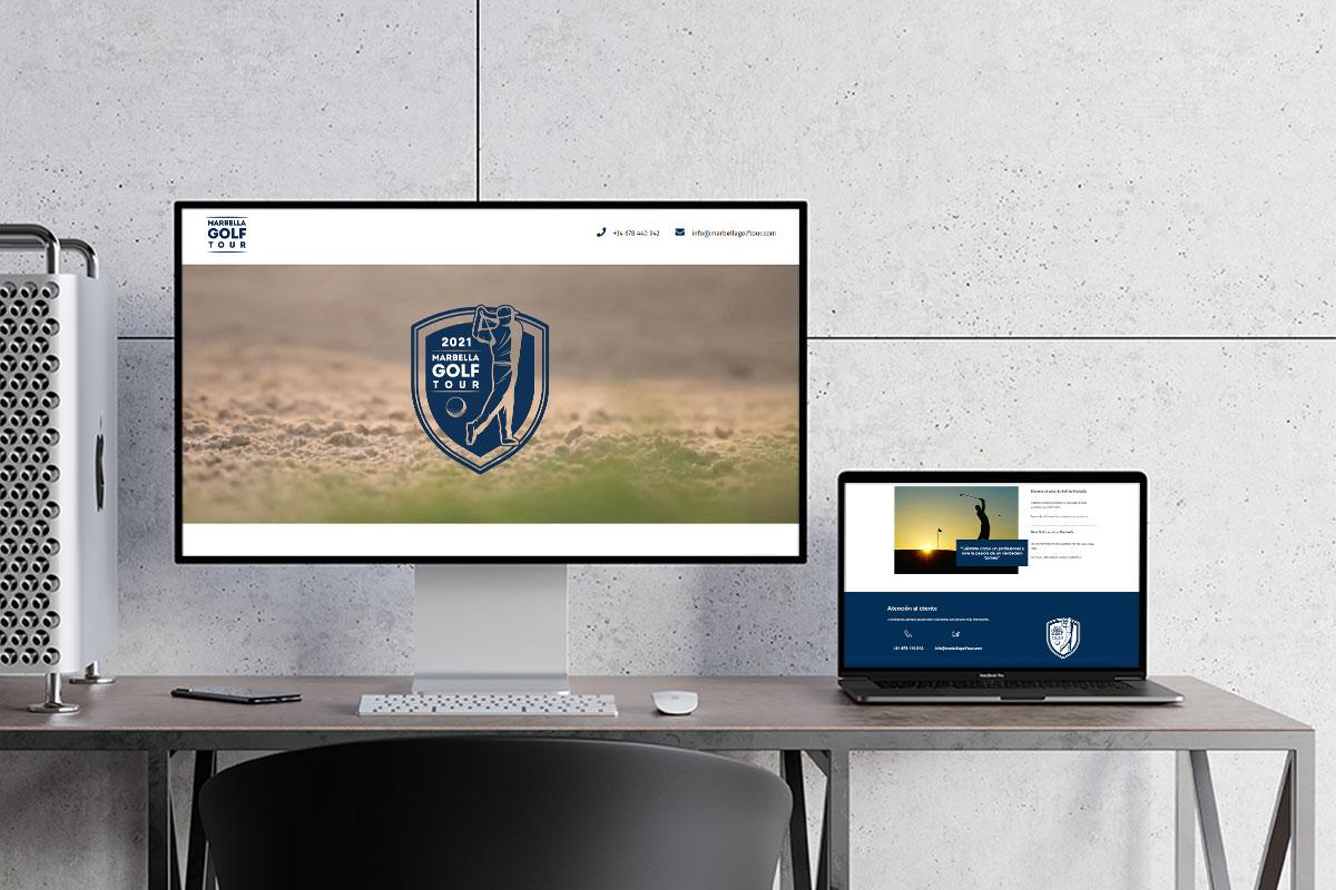 Desarrollo web para torneo de golf