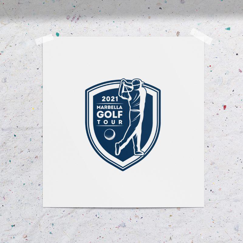 Diseño de logotipo torneo golf