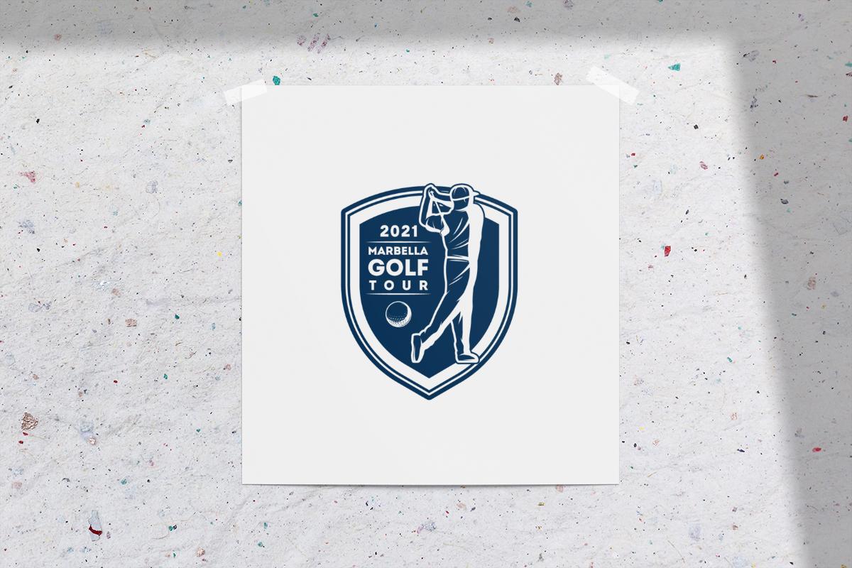 Diseño de logotipo para torneo de golf